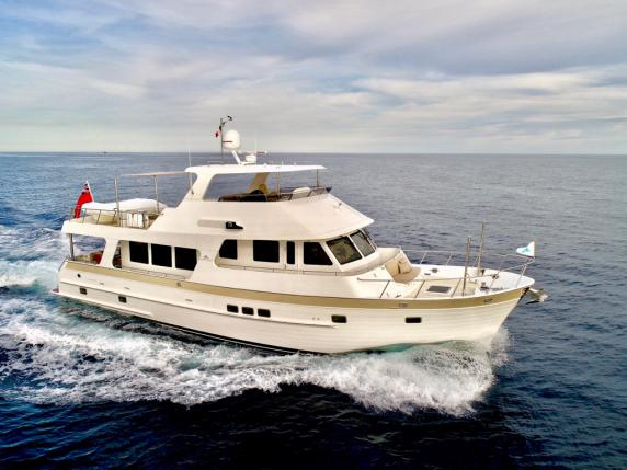 Newly Commissioned 630 Outer Reef Classic Motoryacht
