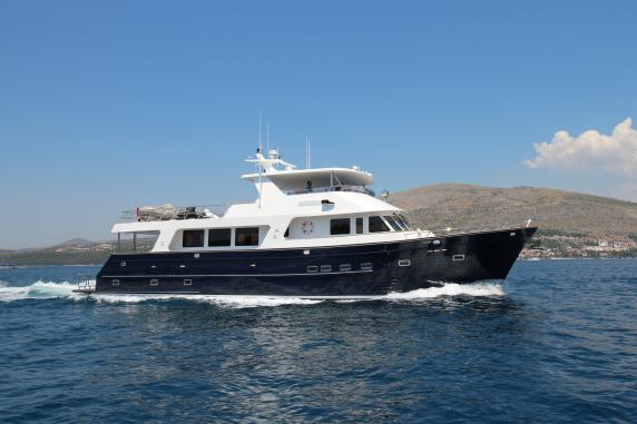 Outer Reef Yachts 24 Meter World Premiere 2016 Cannes Yachting Festival