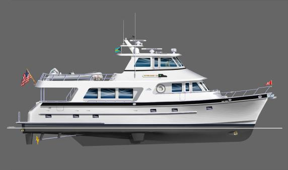 Introducing the 720 Deluxbridge Long Range Motoryacht