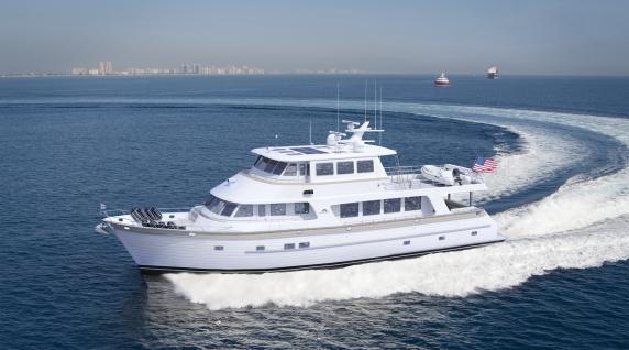 New Outer Reef Full Beam 86' Deluxbridge Motoryacht