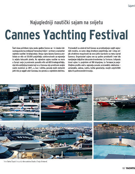 Cannes Yachting Festival Feature