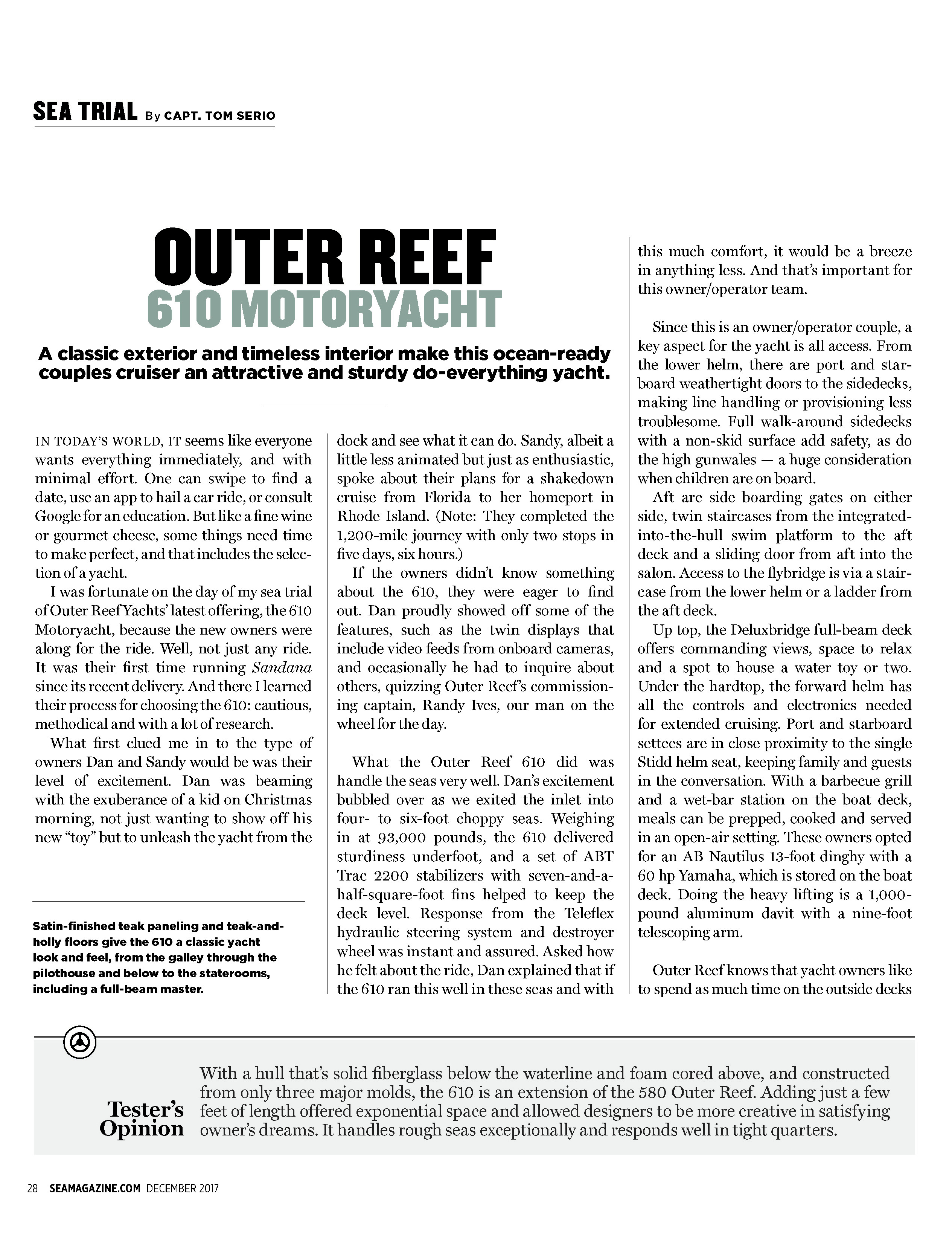 Outer reef yachts 610 my nvjuhfo Choice Image