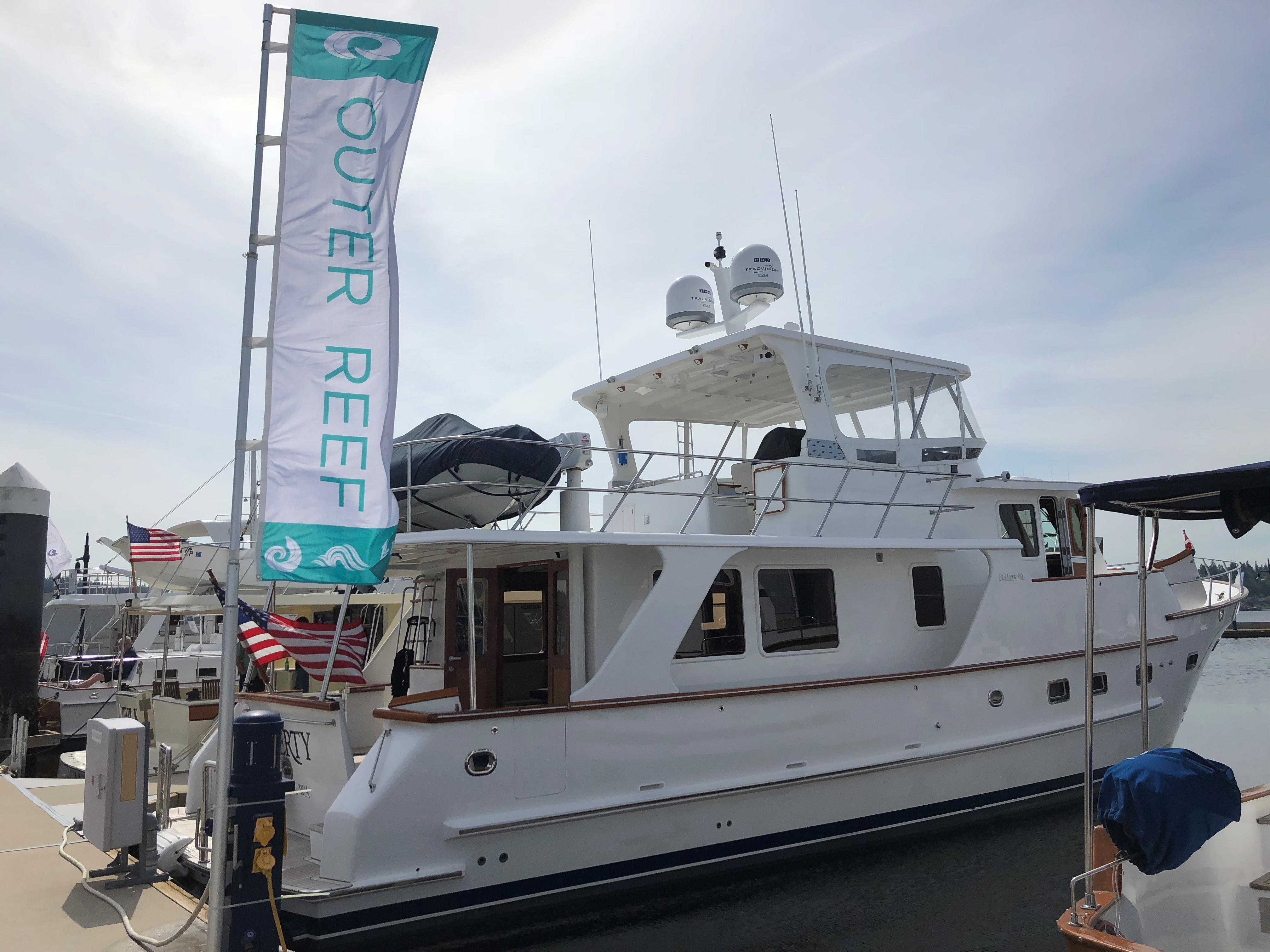 Outer Reef Yachts At 2018 Bremerton, WA Trawlerfest
