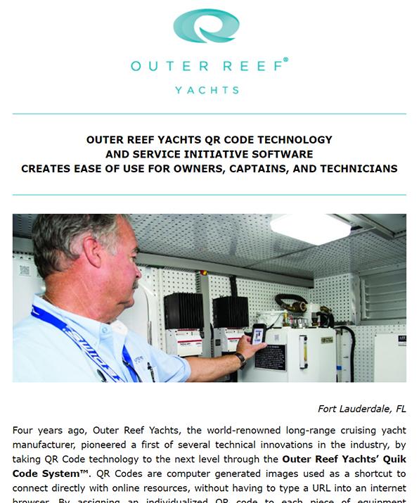Outer Reef QR Code Technology