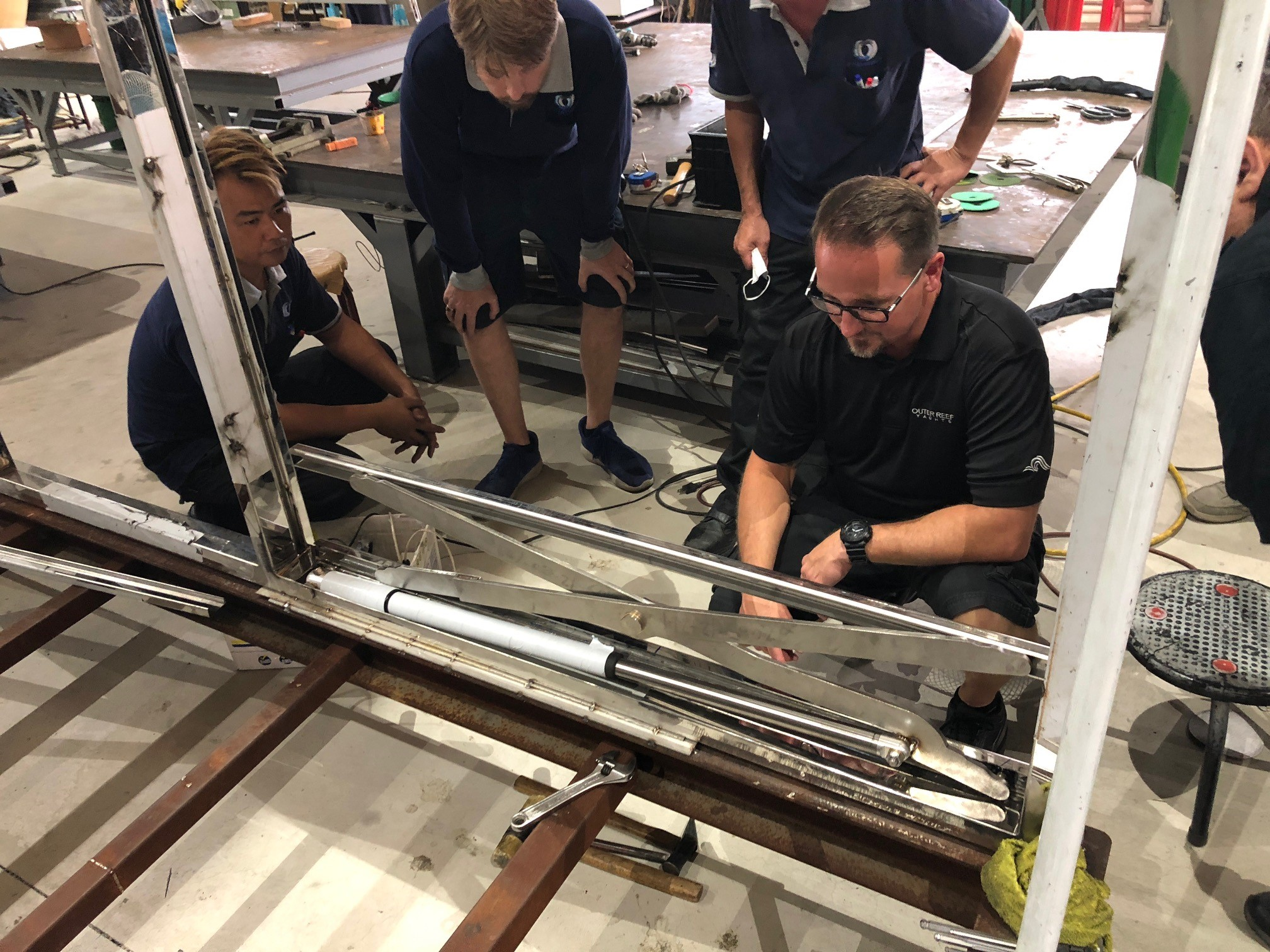 Outer Reef Team Practices Constant Quality Control Measures
