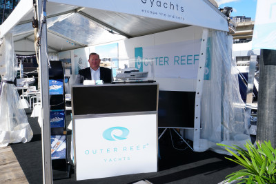 Outer Reef Yachts at 2017 Sydney Boat Show