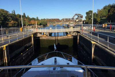DoGo's Hideout Photos Through Ballard Locks