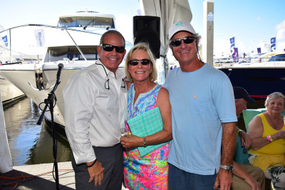 First Outer Reef 610 Christening at 2017 Fort Lauderdale Boat Show