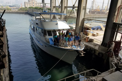 700 Motoryacht New Build Sea Trial Photos