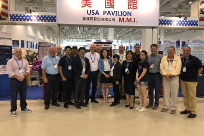 Outer Reef Yachts Team At Taiwan Show, Day #2