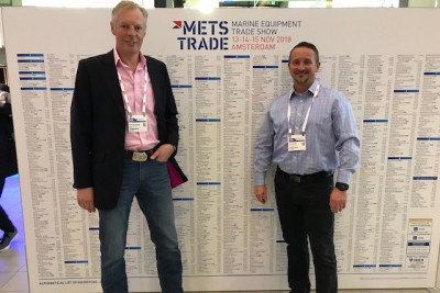 Outer Reef Yachts Directors Visit METS 2018