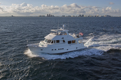 Watch The New Outer Reef 610 Motoryacht Inside Look Video