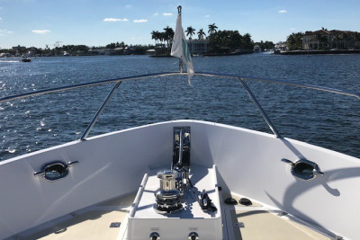 BoatTest.com Visits New Outer Reef 700 JULIANNE in Fort Lauderdale, FL