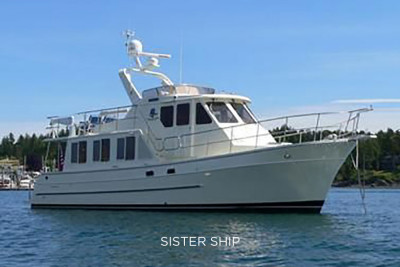 New Listing! North Pacific 43' Pilothouse