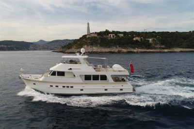 The Stunning 630 Motoryacht PAKIRI Has No Need To Refuel All Season