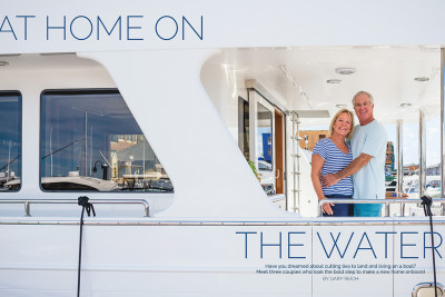 Soundings Magazine Excerpt - At Home on the Water