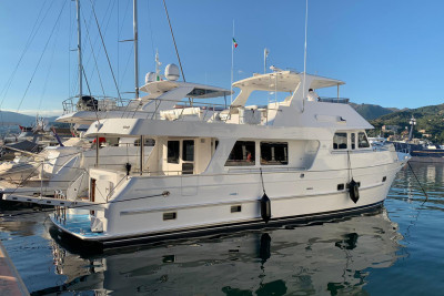 New Outer Reef 630 Motoryacht Offloaded in the Mediterranean