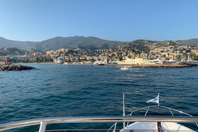Newest 630 Motoryacht Arriving in San Remo Italy