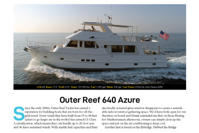 New Boat Buyers Guide - Outer Reef 640 Azure in 2020 Edition