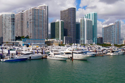 Miami Yacht Show - Outer Reef Yachts on Display