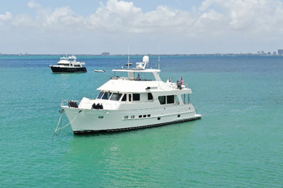 Outer Reef Yachts Social Distancing at Elliot Key