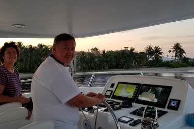 Maiden Voyage of New 610 Motoryacht SILVER SKYE
