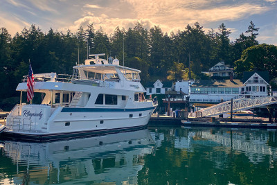 RHAPSODY Returns to Roche Harbor After Early Summer Cruising