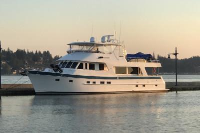 Beautiful RHAPSODY Visits Port Of Bremerton, Washington