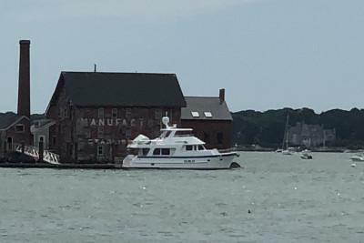 SILVER SKYE Visits Ocean Alliance in Gloucester, Massachusetts
