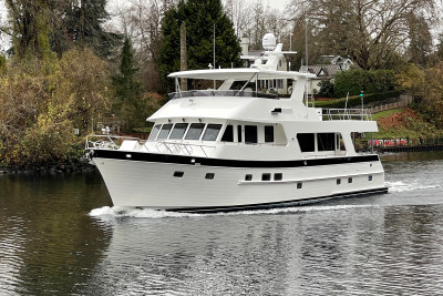 Another Beautiful Outer Reef 700 M Class Motoryacht Joins the Family