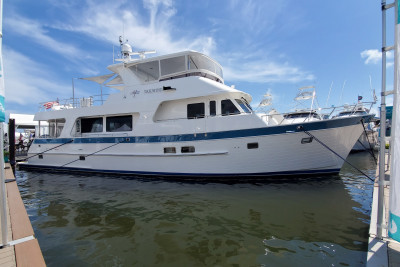 Outer Reef Yachts at the 2021 Palm Beach International Boat Show