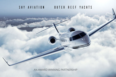 Outer Reef Yachts Expands Customer Service With Aviation Company Partnership