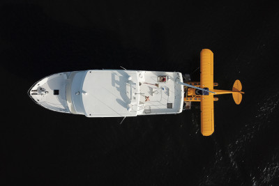 Outer Reef Owner Pairs Yachting and Aviation Passions Together