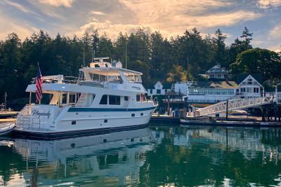 Beautiful RHAPSODY in Roche Harbor, Washington