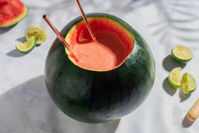 Creative Memorial Day Watermelon Margarita by the Spruce