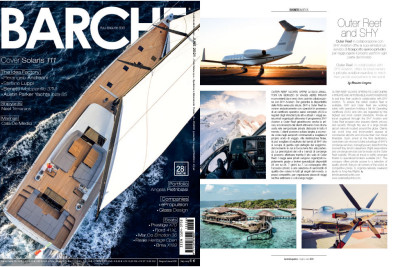 Outer Reef and SHY Aviation Barche Magazine Article
