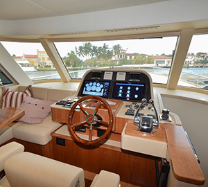 Outer Reef Yachts successfully launches the New 550 Trident at the 2016 Yachts Miami Beach Show