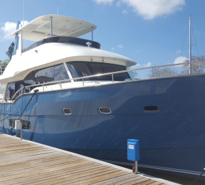 Outer Reef Yachts Successfully Debuted Trident 620 at 2017 Suncoast Show