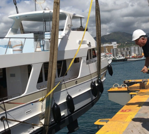 New Outer Reef 630 Motoryacht Offloads in Europe