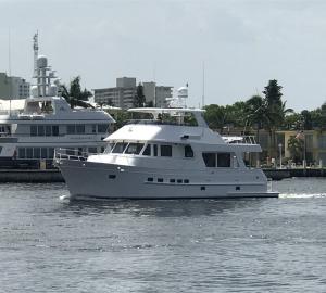 New 610 Pre-Turnover Sea Trial
