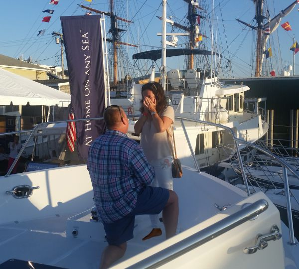 Unprecedented Attendance At 2017 Newport Boat Show