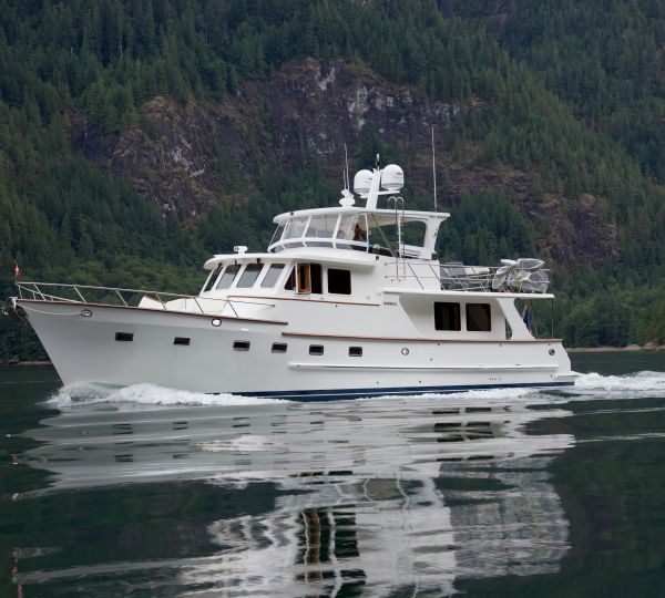 Tour 2015 60' Euro DeFever For Sale at the Seattle Boat Show