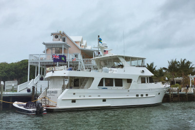 Stunning Outer Reef 700 Motoryacht Spotted