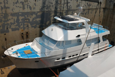 New Model Outer Reef 610 Motoryacht Arrives in Fort Lauderdale, FL