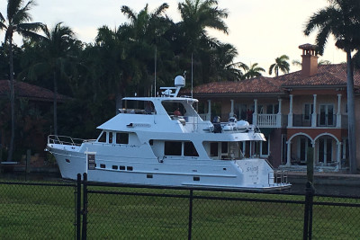 610 Motoryacht Sea Trial with Yacht Industry Partners