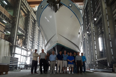New Outer Reef 860 Deluxbridge Successfully Sea Trialed