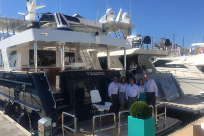Successful Outer Reef Yachts Global Debuts at 2016 Cannes Yachting Festival
