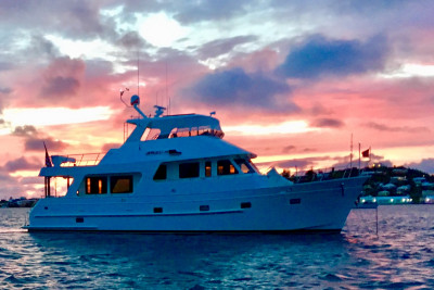 Outer Reef 580's Journey to Visit Beautiful Cruising Grounds