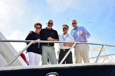 New Outer Reef 700 Motoryacht Christened At 2018 FLIBS